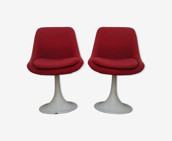 Paire de chaises design