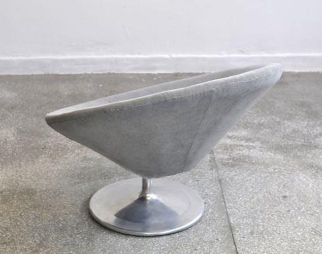 Fauteuil circulaire space age, années 1960