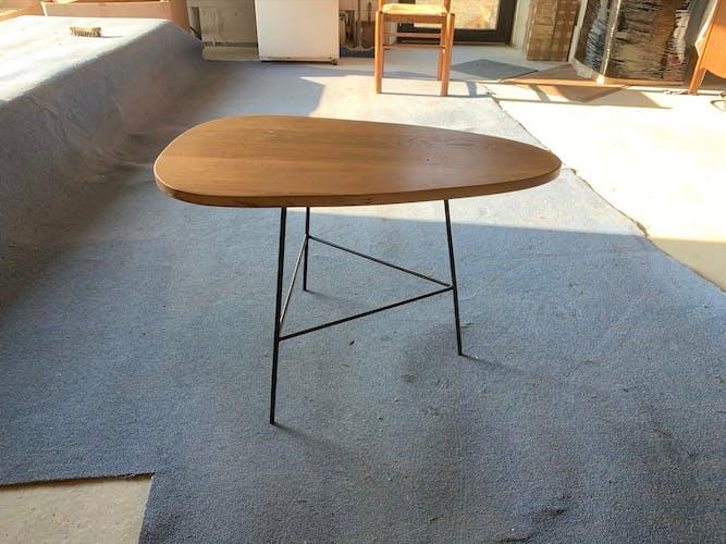 Table basse pieds métal