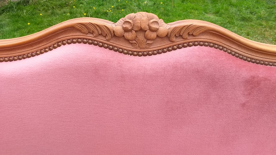 Lit corbeille style Louis XV
