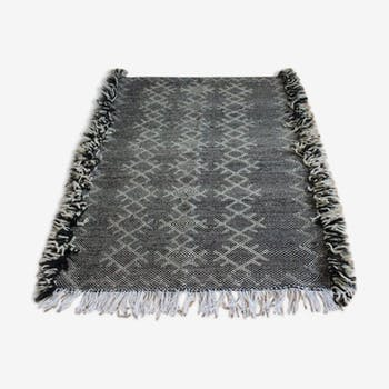 Tapis zanafi tissé main en laine 113x153cm