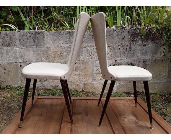 Paire de chaises vintage forme corset   Selency
