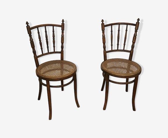 Paire de chaises anciennes label Mundus