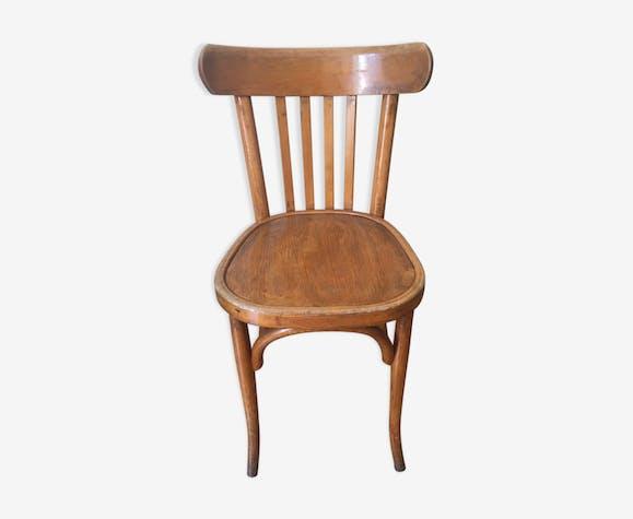 Bistrot Boismatériaucouleur De En Ancienne Chaise wOkiTPuXZ
