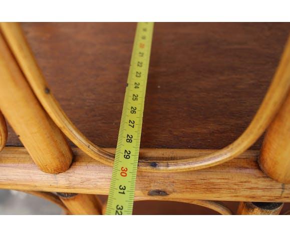 Etagère en rotin 180 cm