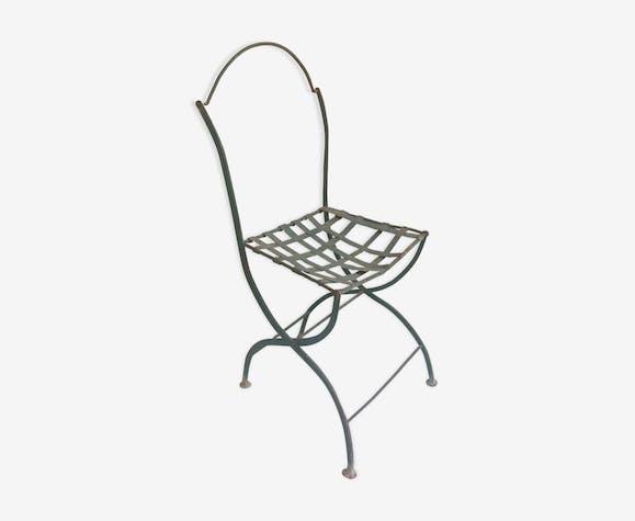 Chaise ancienne de square