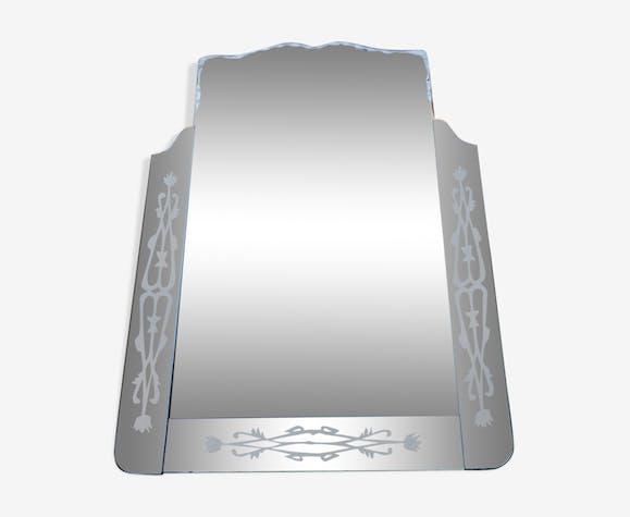 Miroir vénitien des années 50 111 x 77 cm