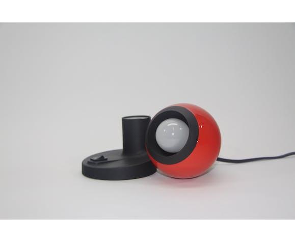 Lampe rouge de globe oculaire, ARO Leuchte, années 70
