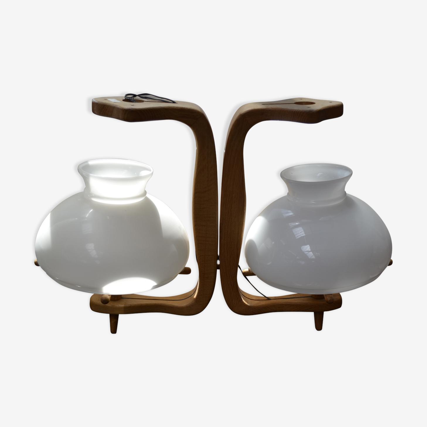 Lanterne double Guillerme et Chambron
