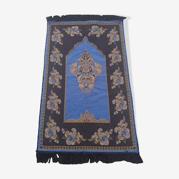 Tapis berbère sajed kilim synthétique multicolore 108x68 cm