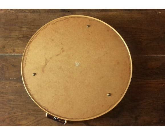 Round metal mirror with two handles 50