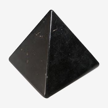 Presse papier pyramide en onyx, années 70