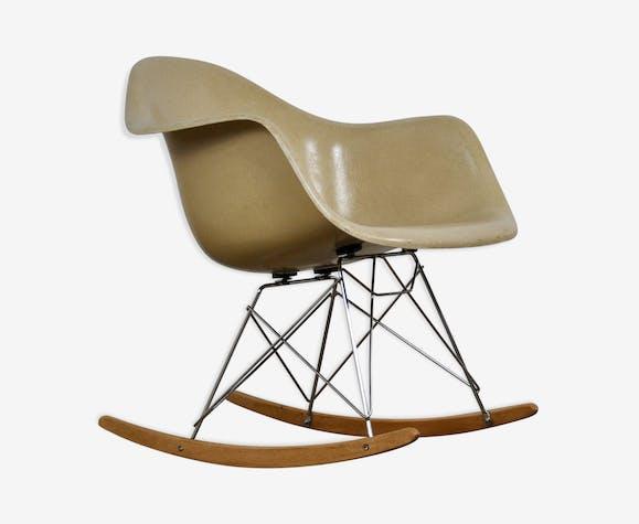 Rocking chair RAR par Charles et Ray Eames pour Herman Miller, 1960
