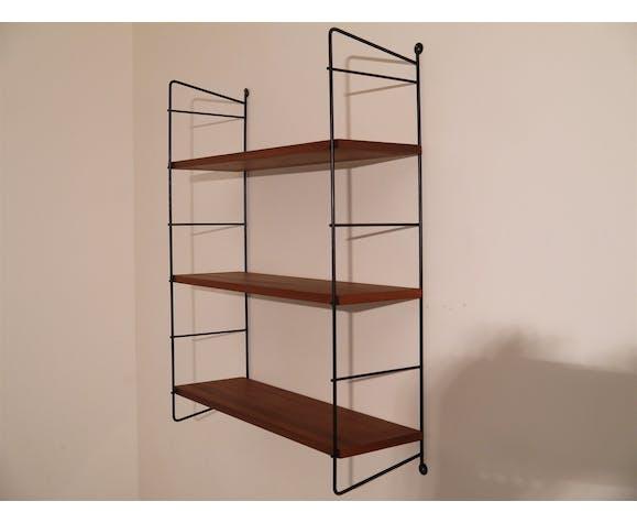 Shelf vintage Scandinavian string 1960