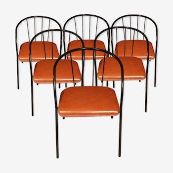 Suite de 4 fauteuils Bontempi