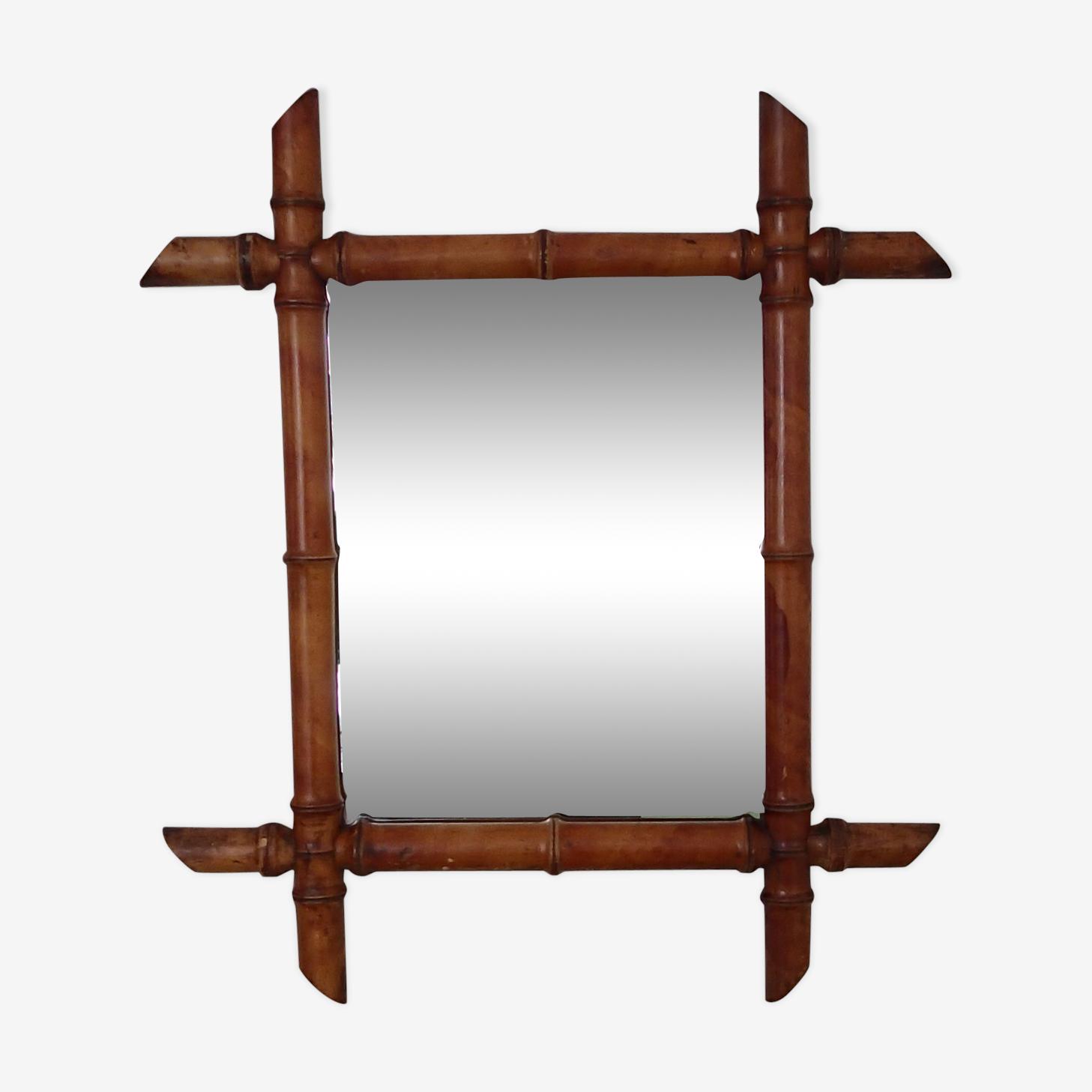 Former mirror bamboo 48 x 42cm