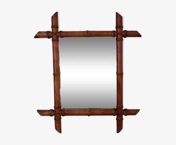 Former mirror bamboo 48 x 42cm