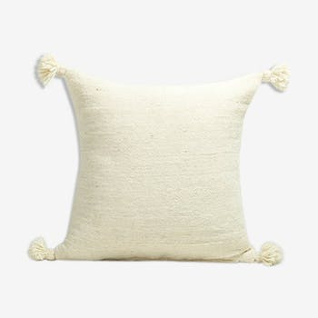 Coussin bourabeh 50x30 pompons