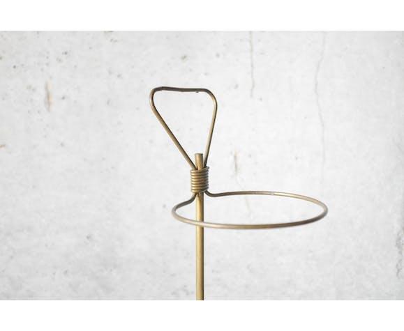 Mathieu Matégot, brass umbrella holder years 50