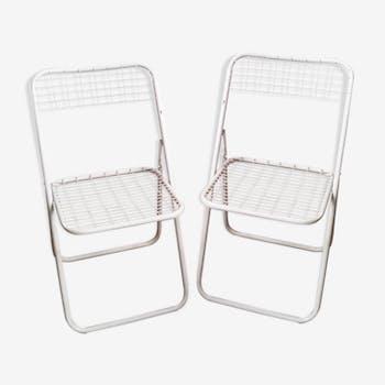 Folding chairs Ted Net of Niels Gammelgaard