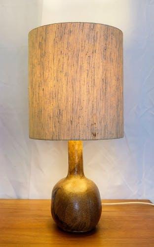 Ceramic mid-century desk lamp 1960s