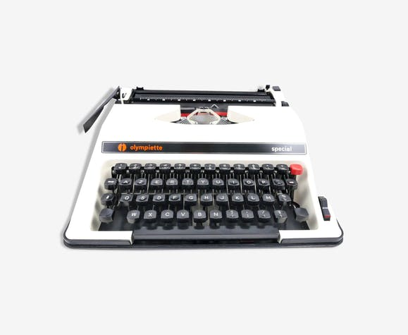Machine à écrire Olympiette Special Olympia