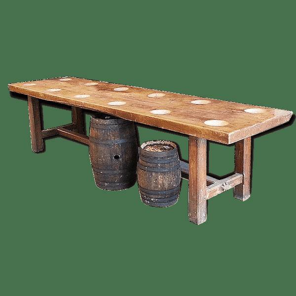 grande table de monast re ancienne table de ferme bois mat riau bois couleur classique. Black Bedroom Furniture Sets. Home Design Ideas