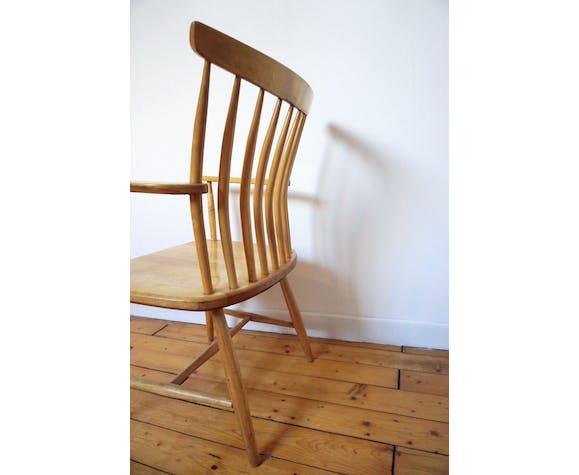 Armchair has armrests Swedish akerblom by gunnar Eklöf
