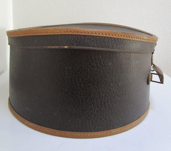 Boîte à chapeau ancienne des années 30
