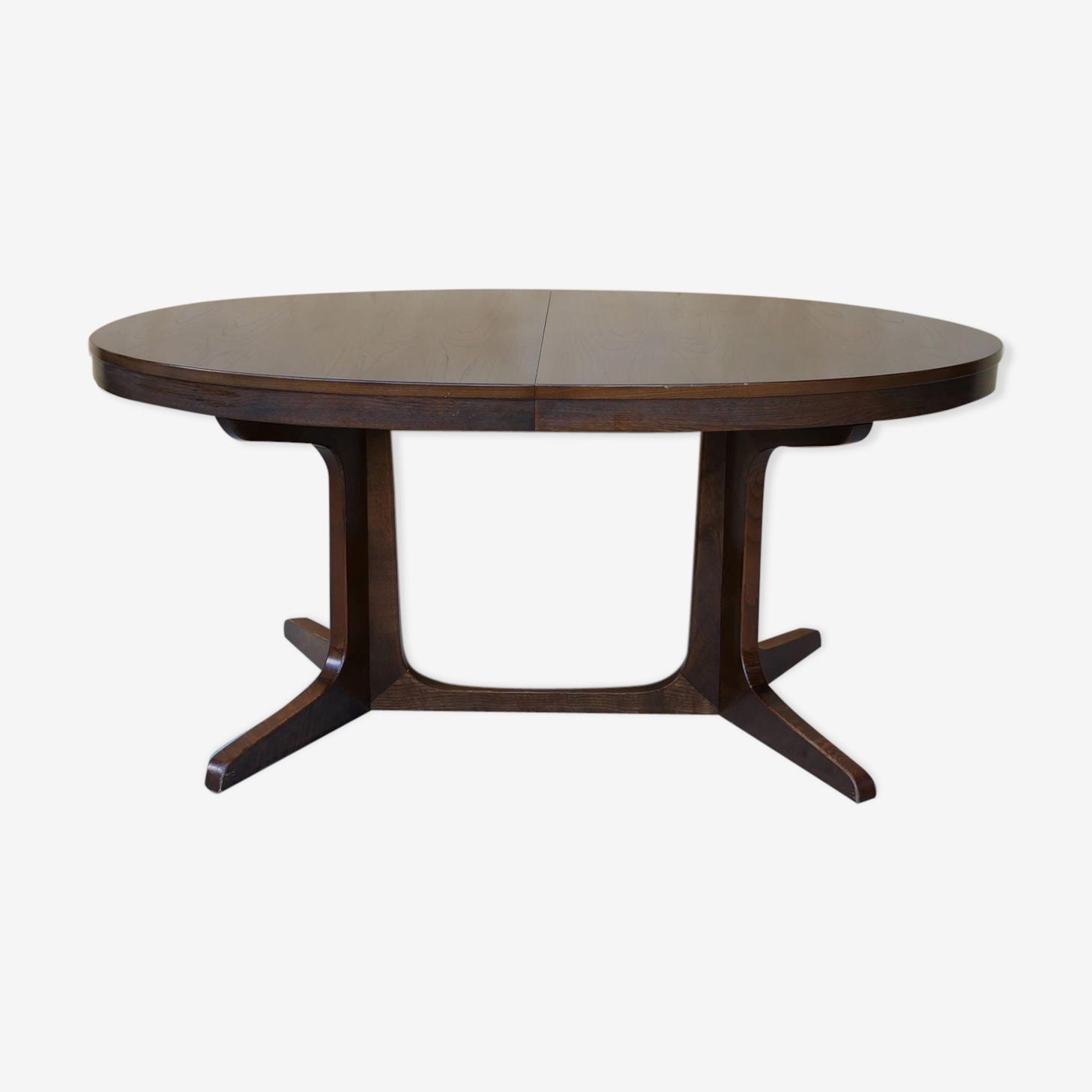Table à manger ovale extensible par Baumann