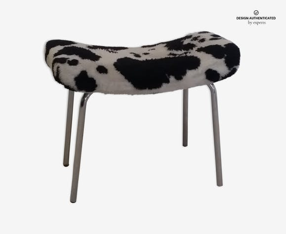 "Footstool ""Bull"" by Pierre Guariche for Meurop 1960"