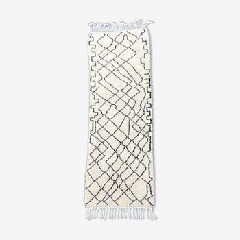 Carpet berbère corridor beni ouarain 100x320 cm