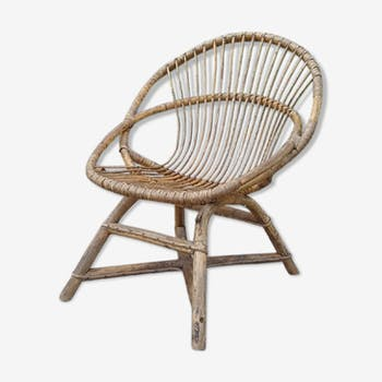 Years 70 rattan chair