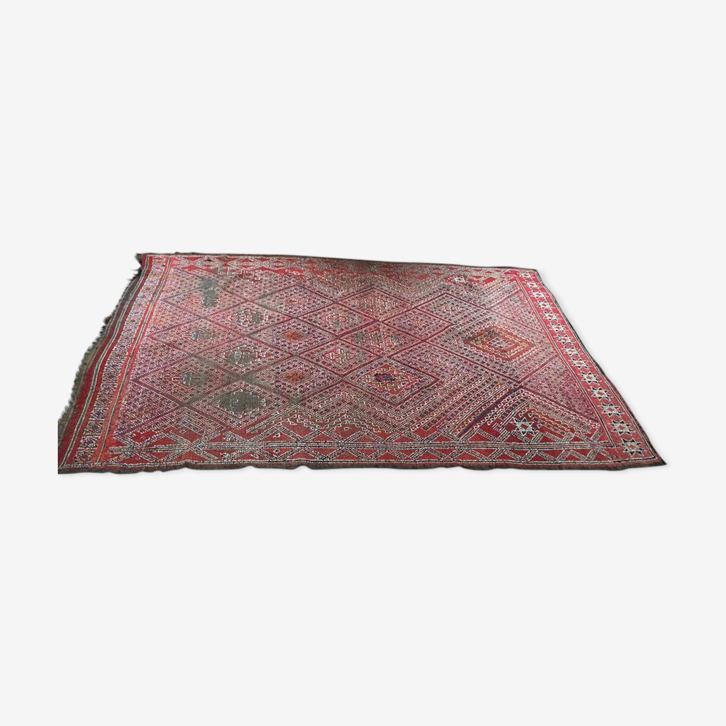 Tapis kilim vintage fait main, 297cmx189 cm