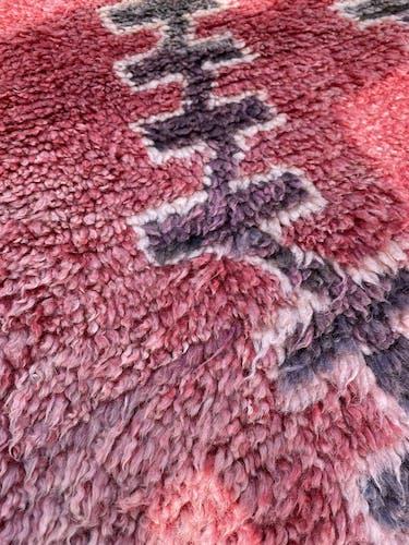 Tapis berbere talsint ancien 200x450 cm