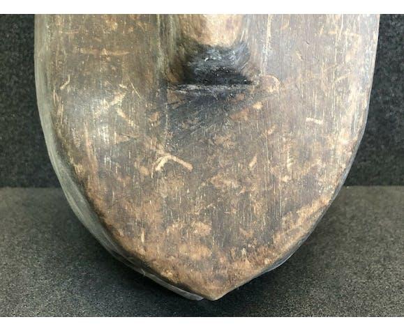 Masque de hyène du koré mali Afrique Bambara ancienne collection de colon