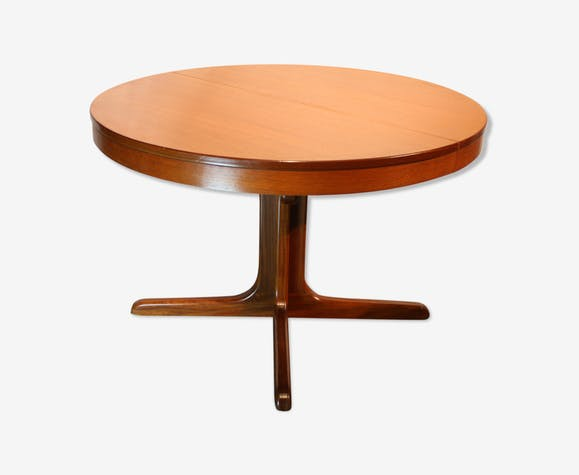 Table ronde scandinave 1960