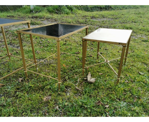 Lot de 3 tables gigognes