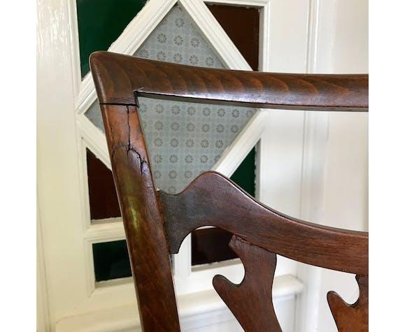 Chaise prie-dieu ancienne