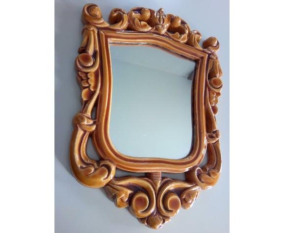Miroir céramique, 1970  - 30 x 20