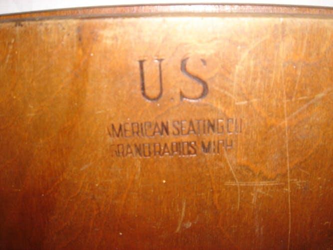Chaise pliante US army seconde guerre mondiale
