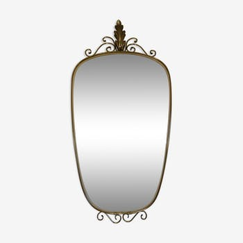 Mirror mirror/freeform Golden, middle of the 20th century
