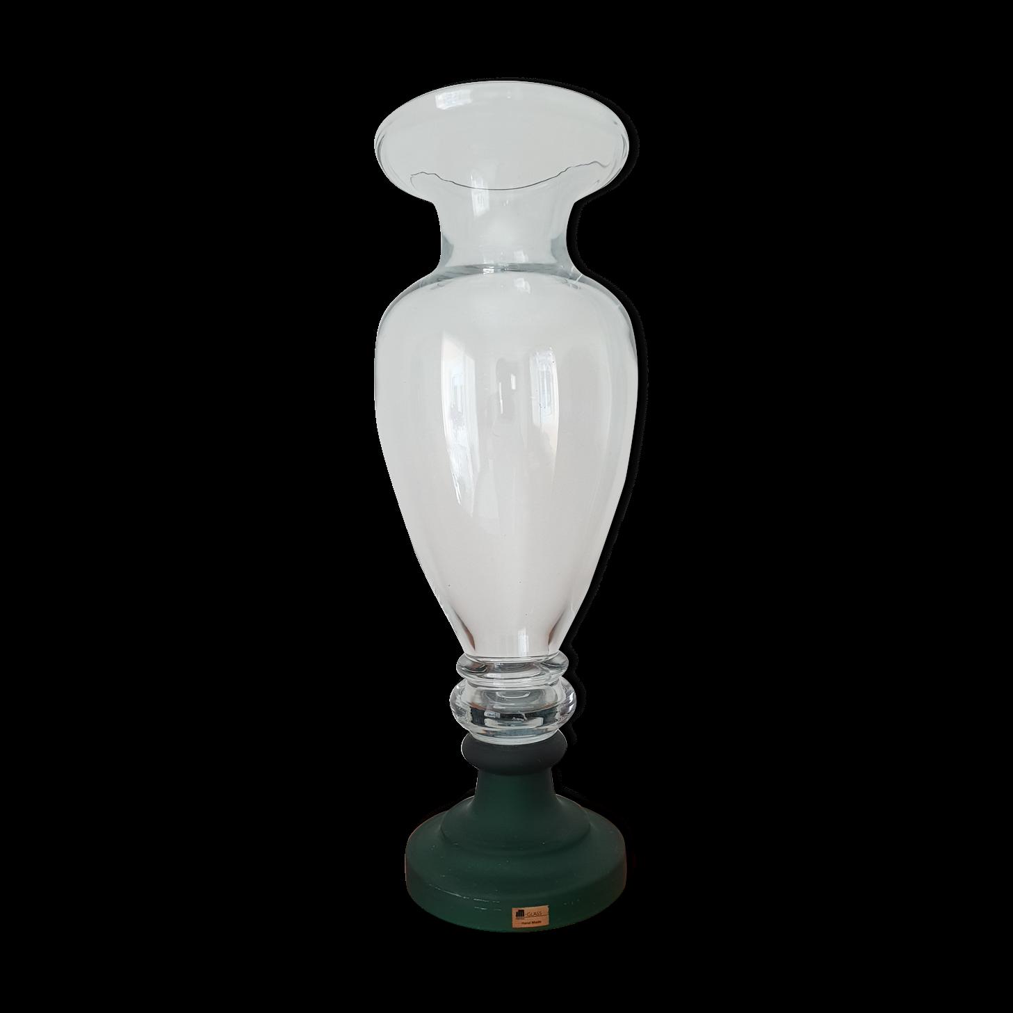 vase grande taille Vase ballustre grande taille verre JM Portugal - verre et cristal -  transparent - classique - HumCeOj