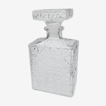 Rectangular whisky carafe