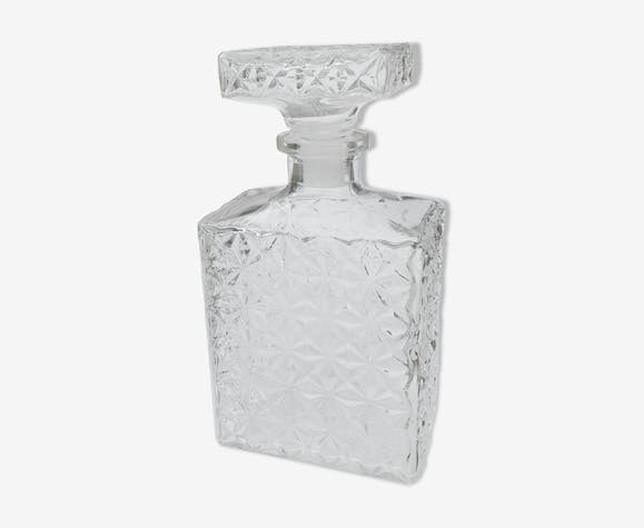 Rectangular whisky carafe