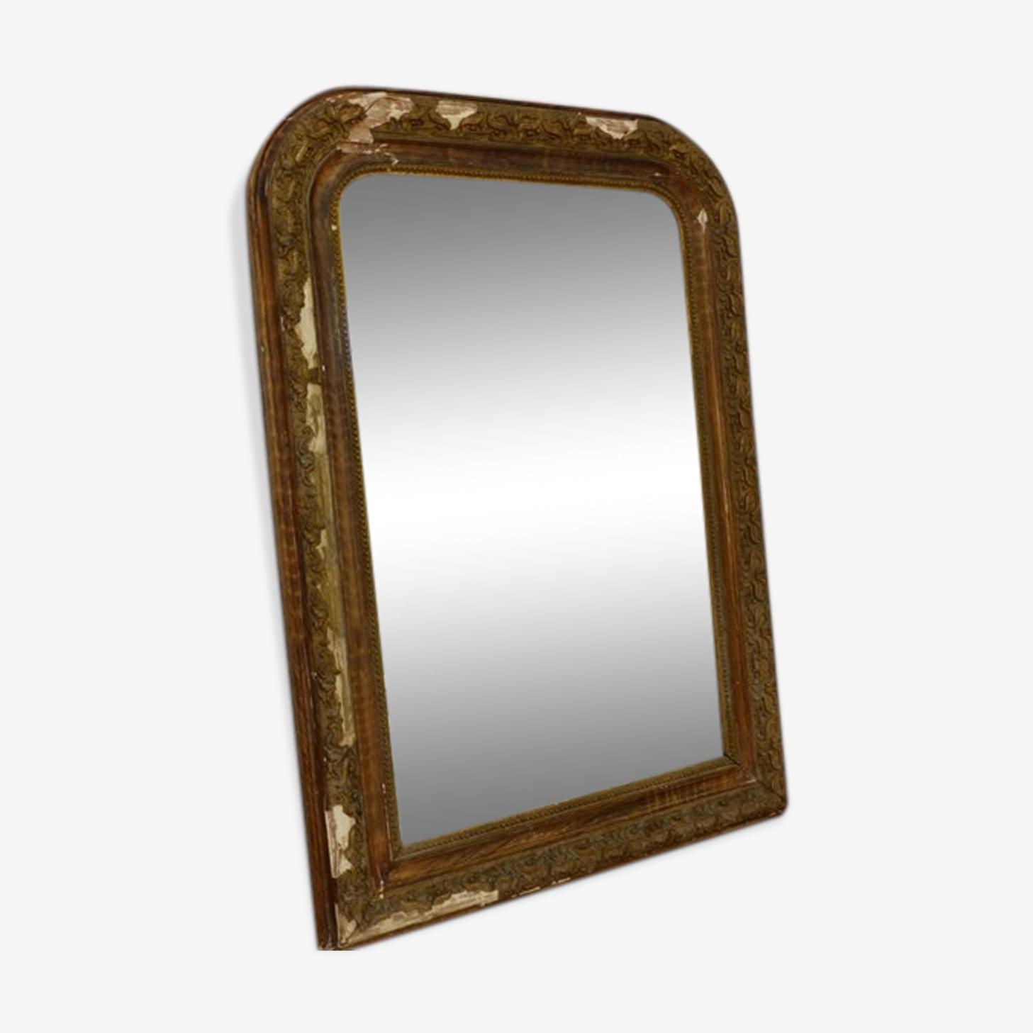 Mirror Louis Philippe Golden