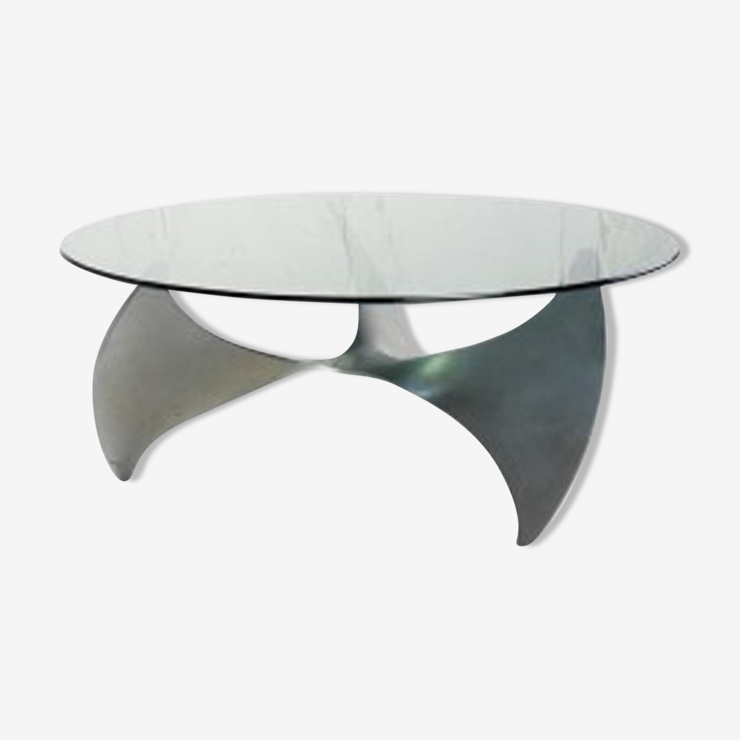Table basse propeller