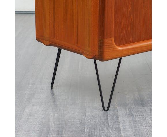 Enfilade danoise années 60, teck