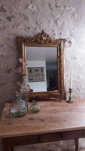 Miroir Napoléon  lll 82x57cm
