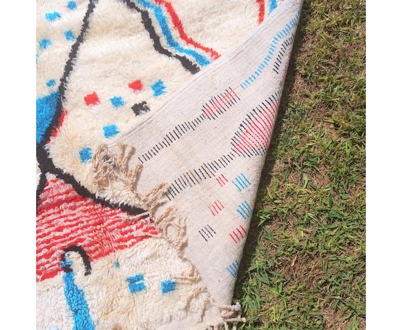 Tapis azilal berbère coloré 150x245 cm